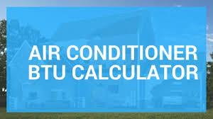 Air Conditioner Btu Calculator Chart