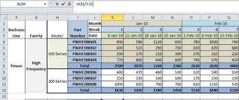 Production Scheduling In Excel Production Planning In Excel Separate Data Calculation And
