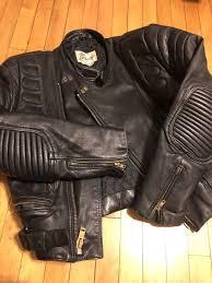 vintage berman s leather jacket
