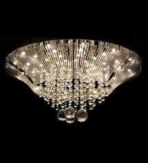 designer crystal ceiling chandelier krilyst 3 steps dimmable by philips