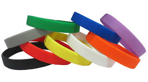 Image result for colored wristbands