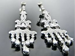 full size of black and gold crystal chandelier earrings white diamond givenchy tone pave thumb diamon