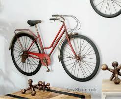 bicycle wall art metal bike vintage