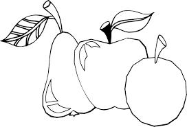 Coloriages Pommes Poires L L L L L L L