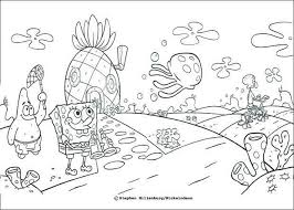 Spongebob Christmas Coloring Pages Online Raovat24hinfo