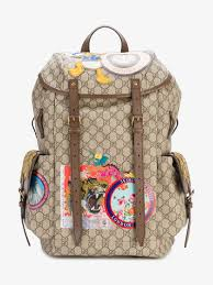 gucci bags pack. gucci multi-patch gg supreme backpack bags pack a