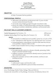 Customer Service And Sales Resume Awesome Sales Associate Resume Examples Good Job Description Salesperson