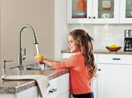 Motionsense Kitchen Faucet Black Kitchens Are The New White Hgtvs Decorating Design Blog