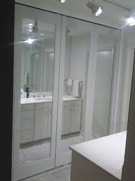 ... show me the different types of closets door we do from bypast to bifold  the customer was interested in bifold closet doors he decided to get  mirrored.
