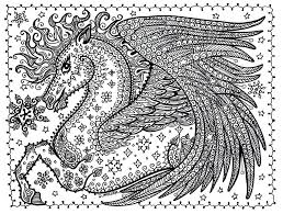 Small Picture Cute Pegasus Coloring Pages Free Printable For Kids Draw Best