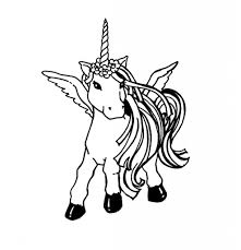 Unicorn Coloring Page For Alena Pinterest