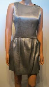 Theyskens Theory Size Chart Theyskens Theory Silver Dilliam Sheath Short Cocktail Dress Size 6 S 80 Off Retail