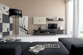sofa white cushions living room fascinating contemporary living room ideas black lamp shade standing lamp brown painted wall