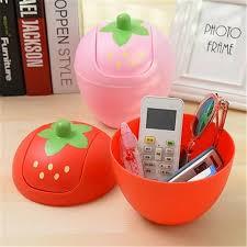 buy shape home office. Strawberry Shape Mini Storage Boxes Plastic Desktop Home Office Garbage Can Waste Bins-in Bins From \u0026 Garden On Aliexpress.com | Alibaba Group Buy