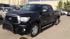 Pre Owned Black 2011 Toyota Tundra 4WD Double Cab 146