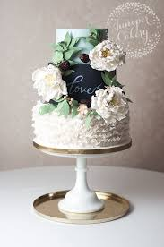 11 Rustic Cakes Without Fondant Photo Rustic Fall Wedding Cake
