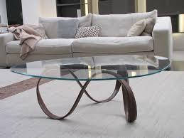 Circle Glass Coffee Table writehookstudiocom
