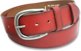 mens 40mm burnt red full grain leather belt with horse shoe buckle 759 p jpg