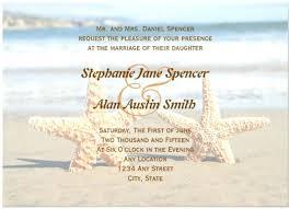Free Beach Themed Wedding Invitation Templates Invitations Ideas