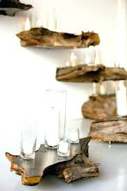 Raw Wood Floating Shelves Mesmerizing Raw Edge Wood Shelf Natural Petrified This I Have 32 Lg Wooden