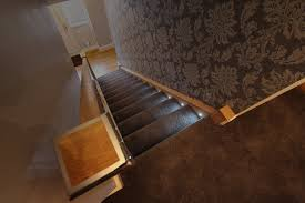 stair step lighting. Step Lighting Can Be Built Directly Into, Or Underneath, Each Individual And Create A Stunning Yet Subtle Warm Glow All The Way Along Your Staircase. Stair