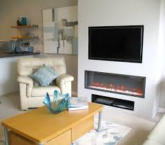 television over electric inset fire thornwood fireplaces