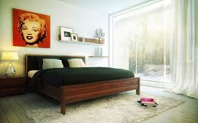 Marilyn Monroe Bedroom Wallpaper Modern Classy Bedroom Design And Decoration Using Accent Pattern