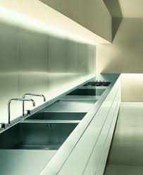 kitchen strip lighting. perfect strip lumilum led lighting guandarah by minotti cucine long counter in  stainless steel nice lighting_ cool white strip lights for kitchen lighting