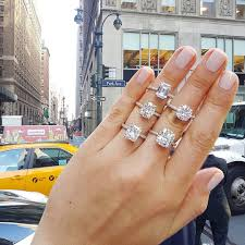 laurenbjewelry lauren b hailing our cab in style for moissanite monday which is your favorite