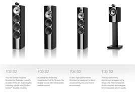 bowers and wilkins 704 s2. bowers and wilkins 700 series has arrived 704 s2
