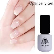 1 Bottle 10ml Born Pretty Opal Jelly Gel White Soak Off Manicure ...