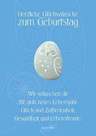 Dk Geburtstag Mit Spruch Doppelkarte Lebensfreude Gedenkshop