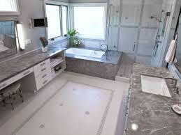 vintage bathroom floor tile ideas. Clear Glass Shower Room In Elegant Bathroom Using White Bathtub And Old Fashioned Floor Tile Vintage Ideas
