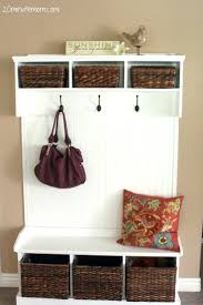 Coat Racks Lowes Lowes Espresso Entryway Storage Bench White Entryway Mini Hall Tree 61