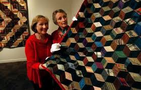 San Jose Museum of Quilts & Textiles celebrates 35 years of craft ... & Gloria Debs Kahn and Sylvia Moore, founders of the San Jose Museum of Quilts  & Adamdwight.com