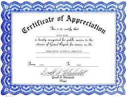 Appreciation Certificates Wording Simple Volunteer Recognition Awards Templates Digitalnovaco