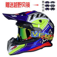 Motorcycle helmet male four seasons universal full-face cross ... - Vova