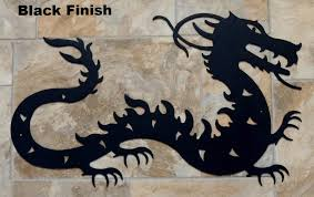 chinese dragon metal wall art