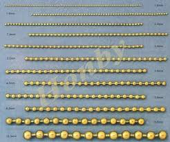 Ball Chain Sizes Related Keywords Suggestions Ball Chain