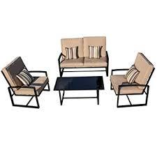 Warehouse style furniture Shabby Chic Image Unavailable Amazoncom Amazoncom Hp95 Balcony Patio Garden Furniture Set 4furniture