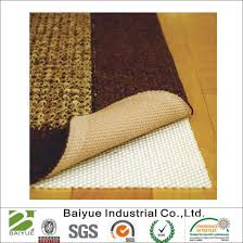 firm hold non slip rug pad for hard floor surfaces