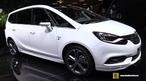 2017 Opel Zafira Elite 1.4 Turbo 140hp - Exterior and Interior ...