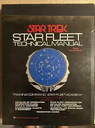 Star Trek Star Charts Book Star Trek Star Fleet Technical Manual Guide Book