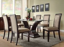 Full Size of Dining Room:stunning Glass Dining Room Table Sets Cool Round  With Hampton Large Size of Dining Room:stunning Glass Dining Room Table Sets  Cool ...