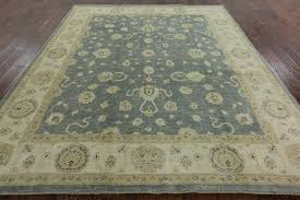 new silver washed blue chobi peshawar 8x10 hand knotted stani wool rug h3800 traditional area rugs by manhattan rugs