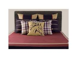 trend lab northwoods 3 piece crib bedding set red tan