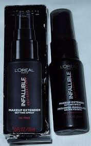 upc 071249309605 image for loreal infallible makeup extender setting spray oil free 1 0 oz