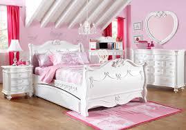 Disney Princess White 5 Pc Twin Sleigh Bedroom - Girls' Bedroom Sets ...