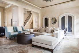 houston apartment size sectionals with faux leather coffee table ottomans living room transitional and off