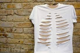 how to make a diy skeleton t shirt